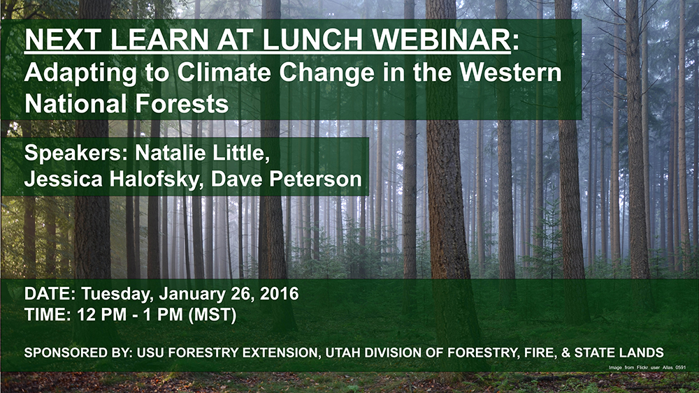 Adapting to Climate Change in the Western National Forests