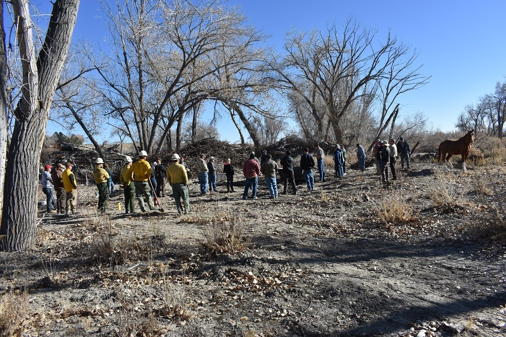 biochar workshop in Emery County